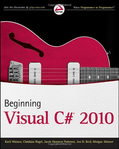 Beginning Visual C# 2010 9780470502266