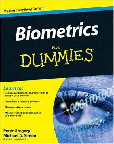 Biometrics for Dummies 9780470292884