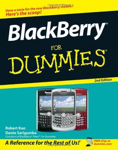 Blackberry for Dummies 9780470180792