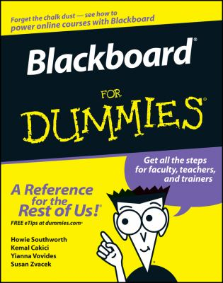 Blackboard for Dummies 9780471798323