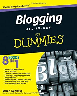 Blogging All-In-One for Dummies 9780470573778