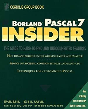 Borland PASCAL 7 Insider 9780471598947