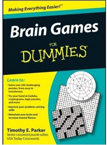 Brain Games for Dummies 9780470373781