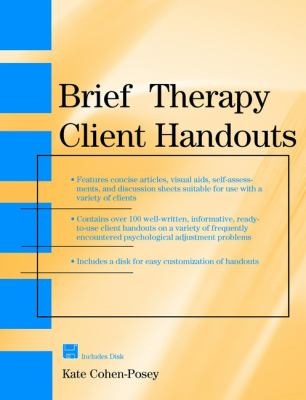 Brief Therapy Client Handouts 9780471328469