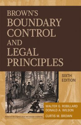 Brown's Boundary Control and Legal Principles 9780470183540