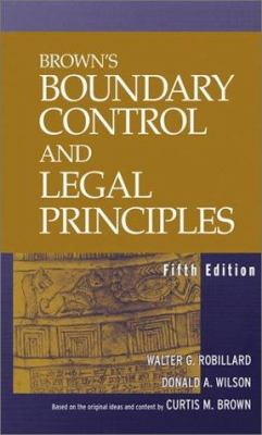 Brown's Boundary Control and Legal Principles 9780471215981