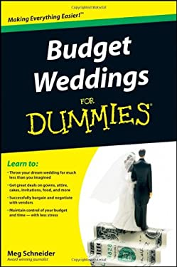Budget Weddings for Dummies 9780470502099