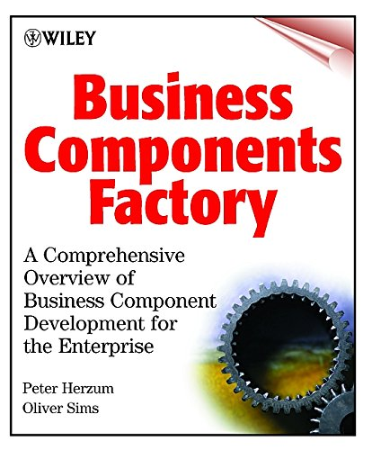 Business Components Factory 9780471327608