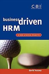 Business Driven Hrm: A Best Practice Blueprint