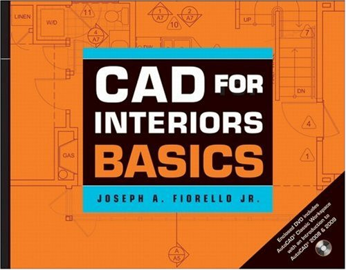 CAD for Interiors Basics [With DVD] 9780470185735