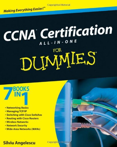 CCNA Certification All-In-One for Dummies [With CDROM] 9780470489628
