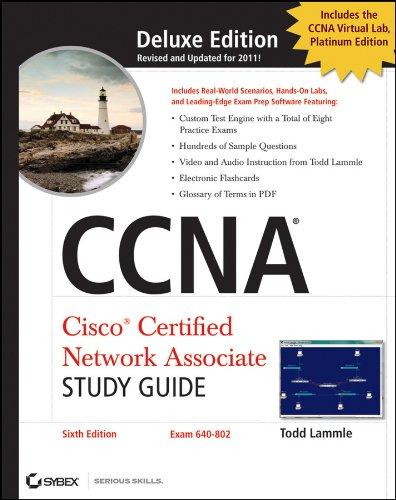 CCNA Cisco Certified Network Associate Deluxe Study Guide [With 2 CDROMs] 9780470901083
