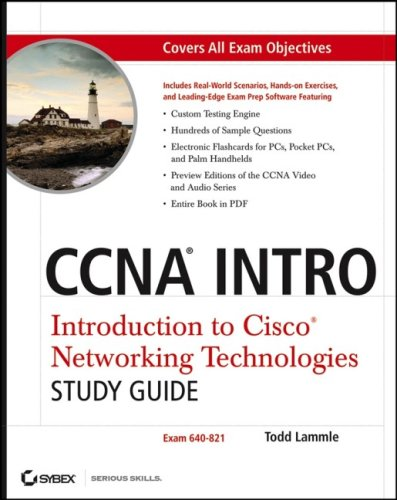 CCNA Intro: Introduction to Cisco Networking Technologies: Exam 640-821 [With CDROM] 9780470068502