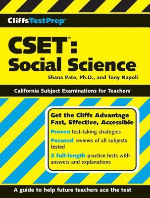 CSET: Social Science 9780470165010