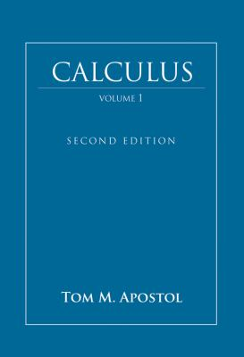 Calculus, One-Variable Calculus with an Introduction to Linear Algebra 9780471000051