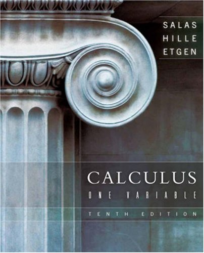 Calculus: One Variable 9780470073339