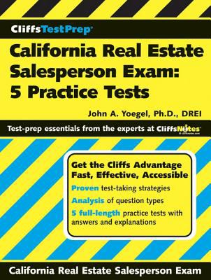 California Real Estate Salesperson Exam: 5 Practice Tests 9780470036990