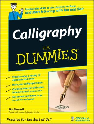 Calligraphy for Dummies 9780470117712