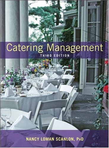 Catering Management 9780471429814