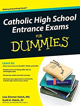 Catholic High School Entrance Exams for Dummies 9780470548738