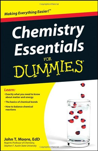 Chemistry Essentials for Dummies 9780470618363