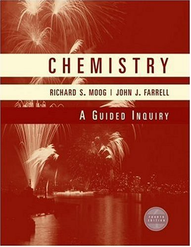 Chemistry: A Guided Inquiry 9780470129265