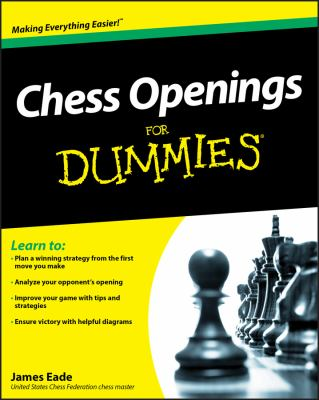 Chess Openings for Dummies 9780470603642