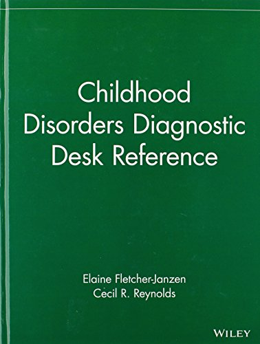 Childhood Disorders Diagnostic Desk Reference 9780471404286