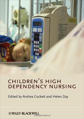 Children's High Dependency Nursing 1526046