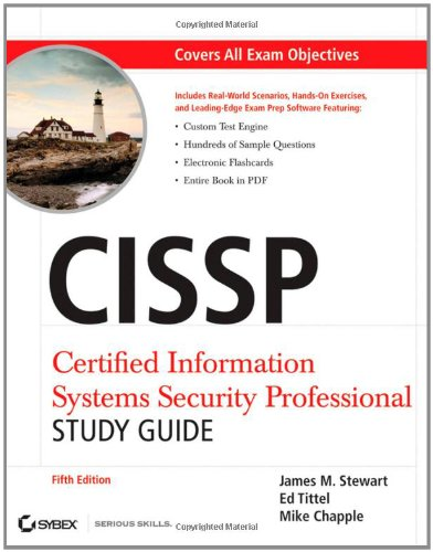 CISSP: Certified Information Systems Security Professional Study Guide [With CDROM] 9780470944981