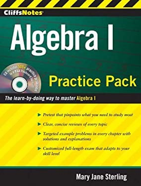 CliffsNotes Algebra I Practice Pack [With CDROM]