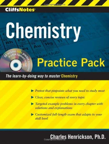 CliffsNotes Chemistry Practice Pack [With CDROM] 9780470495957