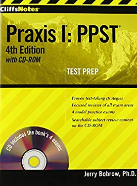 CliffsNotes Praxis I: PPST [With CDROM] 9780470454558