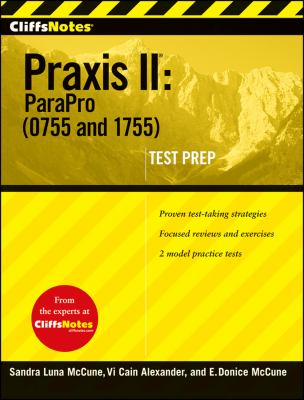 CliffsNotes Praxis II: ParaPro (0755 and 1755) 9780470397282