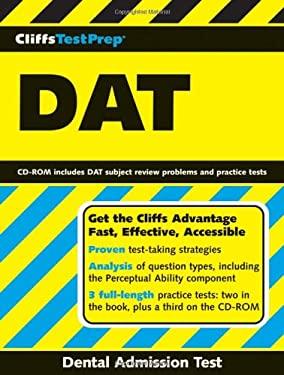 CliffsTestPrep DAT: Dental Admission Test [With CD-ROM] 9780471785934