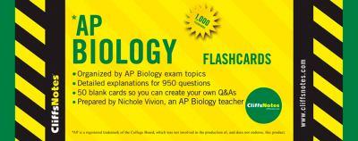 Cliffsnotes AP Biology Flashcards 9780470282816