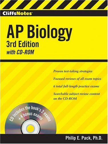 Cliffsnotes AP Biology [With CDROM] 9780470400357
