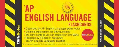 Cliffsnotes AP English Language Flashcards 9780470269855