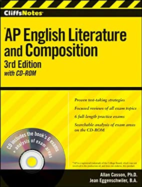 Cliffsnotes AP English Literature and Composition [With CDROM] 9780470607589