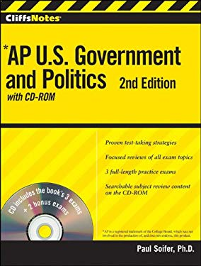 Cliffsnotes AP U.S. Government and Politics, [With CDROM] 9780470562130