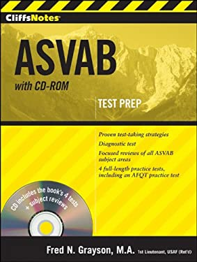 CliffsNotes ASVAB [With CDROM] 9780470566831