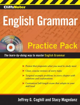 Cliffsnotes English Grammar Practice Pack [With CDROM] 9780470496398