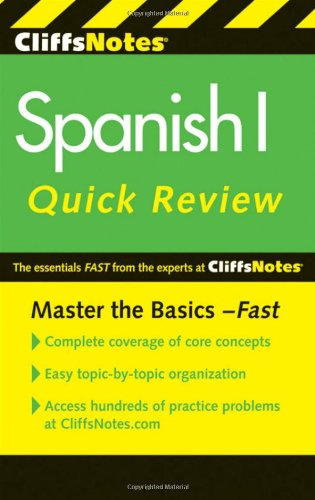 Spanish I Quick Review 9780470878750