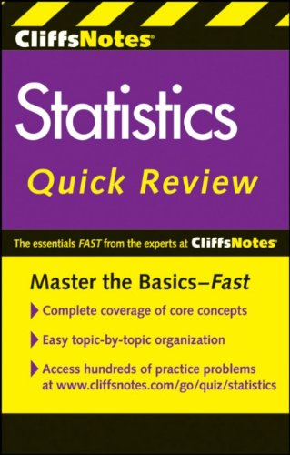 Statistics Quick Review 9780470902608