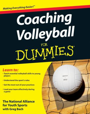 Coaching Volleyball for Dummies 9780470464694