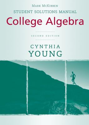 College Algebra, Student Solutions Manual 9780470417034