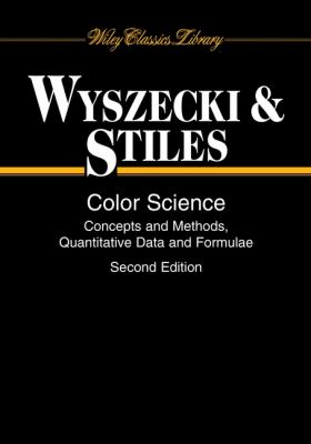 Color Science: Concepts and Methods, Quantitative Data and Formulae 9780471399186