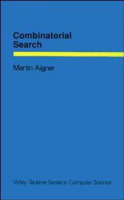 Combinatorial Search 9780471921424