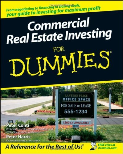 Commercial Real Estate Investing for Dummies 9780470174913