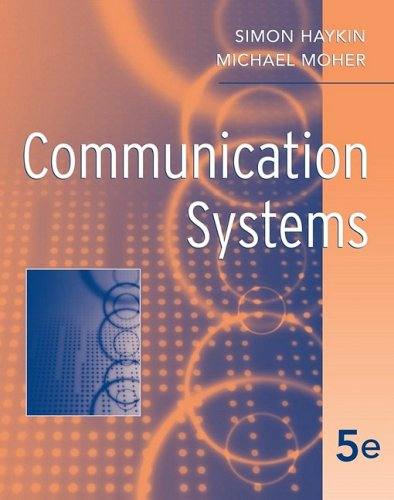 Communication Systems 9780471697909